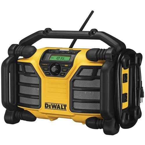 12V/20V MAX Worksite Charger Radio DCR015 (Certified Refurbished) (Dewalt Battery And Radio Charger)