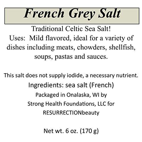 Gourmet Sea Salt Sampler: 4 X 6oz. Packages, Pink Himalayan, French Grey, Hawaiian Red Alaea and Black Lava, 24 oz. total