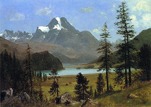 Long's Peak, Estes Park, Colorado by Albert Bierstadt - 18