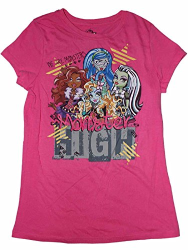 Monster High Girls T-shirt (S (6/6x)) (Monsters Inc Clothes For Girls compare prices)