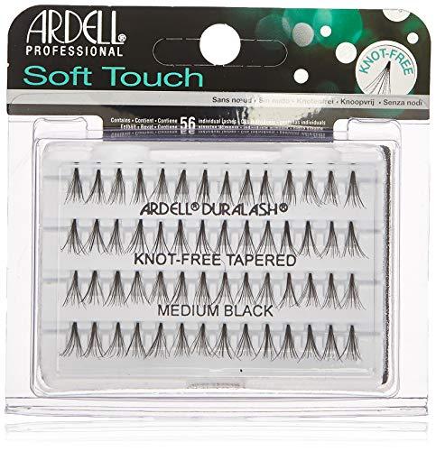Ardell Soft Touch Knot-Free Eyelash, Black, Medium