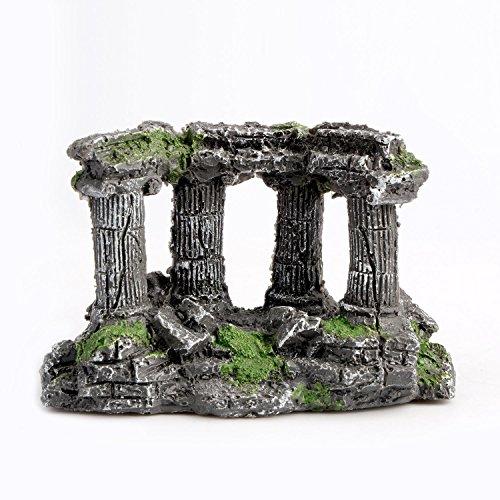 Saim Ruins Aquarium Ornament Aquatic Creations Corner Columns