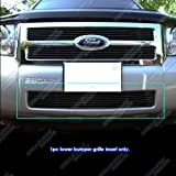 2009 ford escape grille - APS F65784H Black Powder Coated Grille Bolt Over for select Ford Escape Models