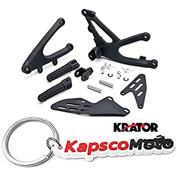Amazon.com: Krator Yamaha YZF-R1 2007-2008 (Front) Foot Rests ...