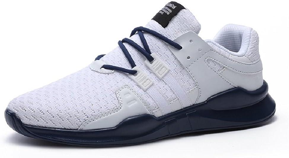 Zapatillas de Deporte Zapatos Running para Hombre Deportes Atléticas Impermeables Aire Libre Negro Blanco Gris 39-46: Amazon.es: Zapatos y complementos