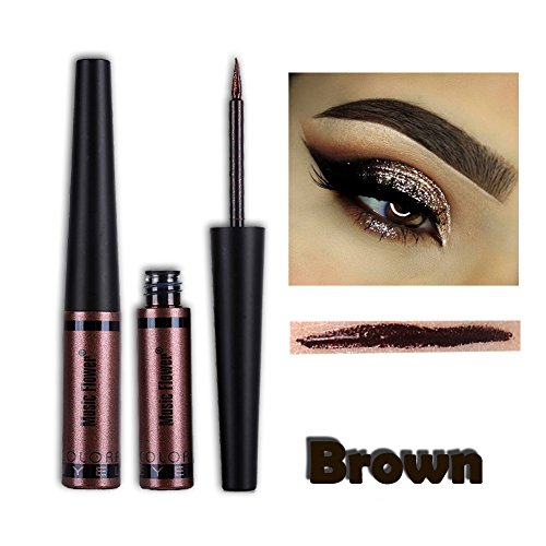 Cocohot Metallic Liquid Eyeliner Glitter Waterproof Eyeshado