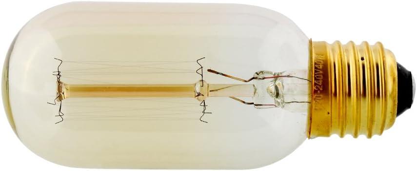 FUGL Edison Vintage Antik Retro E27 T45 40 W//220 W Decor Lampe Glas Lampe