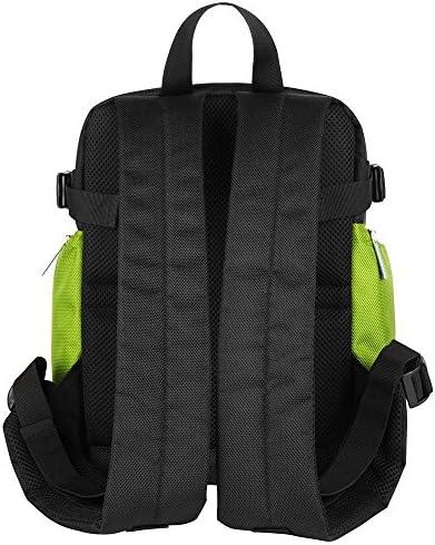 Multi Functional Camera Backpack Black Green Photography Equipment Travel Bag for DSLR SLR GoPro HERO5 Series