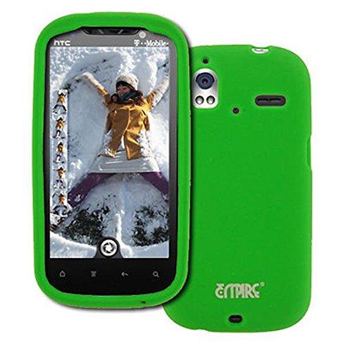 EMPIRE HTC Amaze 4G Neon Grün Silicone Skin Case Tasche Hülle Cover