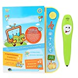 Haofy Kids Early Educational Electronic English Learning Book with Smart Reading Pen