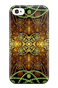 Special Design Back Fractal Pattern Abstract Pattern Phone Case Cover For Iphone 4/4s