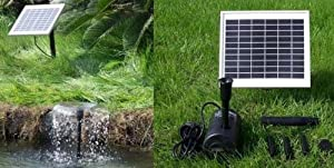 5 watt solar powered water fountain pump - Solar Powered Fountain