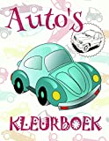 Kleurboek Auto's : Kids Coloring Book for Children 4-12 Year Old  (Kleurboek Auto's - A SERIES OF COLORING BOOKS)