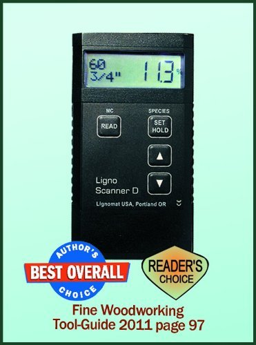 Lignomat Ligno-Scanner D Pinless Moisture Meter ()