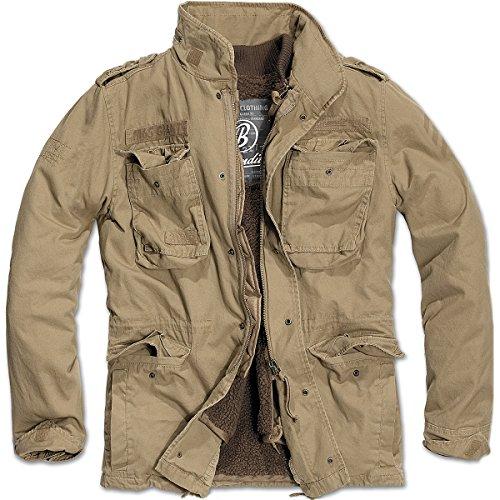 Brandit Men's M-65 Giant Jacket Camel Size L