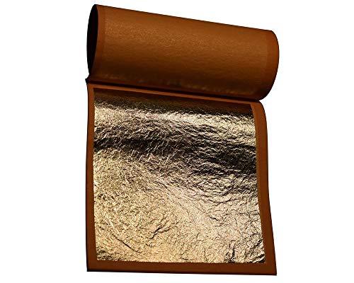 Palladium Leaf - Genuine Gold Leaf 12K- by Gilder's Planet - (3.375