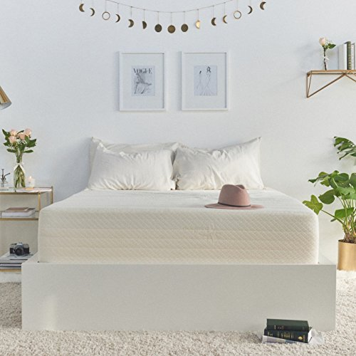 Brentwood Home Cypress Mattress, Greenguard Gold & CertiPUR Certified Non Toxic, Soft Eco Cover, Cool Gel Memory Foam, 25-Year Warranty, Made in California, 9-Inch, Queen Size