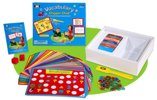 Vocabulary Chipper Chat Magnetic Game – Super Duper Educational Learning Toy for Kids – Creative Child Magazine 2013 Game of the Year Award