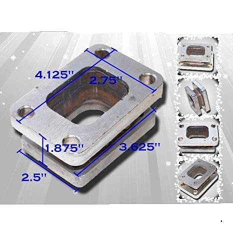 Amazon.com: Turbo T25 T28 T2 Flange to T3 Flange adapter T2 to T3: Automotive
