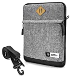 tomtoc 10.5 Inch Tablet Shoulder Bag Sleeve Case Compatible with 10.5'' iPad Pro | 9.7'' New iPad 2018 | Surface Go | Acer Tab 10 | Samsung Galaxy Tab A 10.1, Apple Pencil & Smart Keyboard Compatible