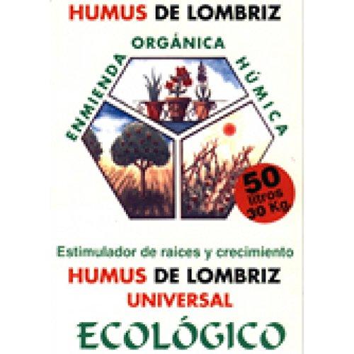 Flower - Sustrato de humus de lombriz 50 litros 30 kg: Amazon.es ...