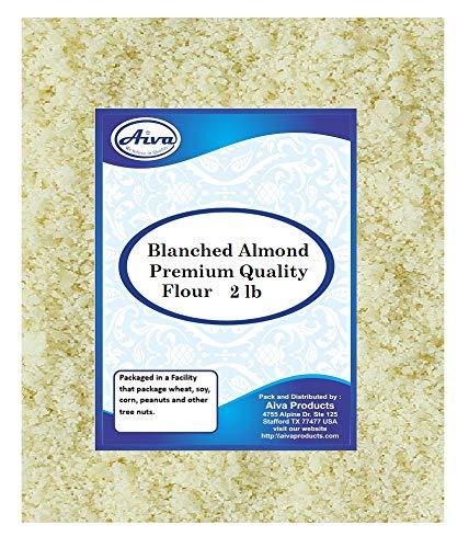 Aiva Brand Super Almond Flour 2 Pound Resealable Bag