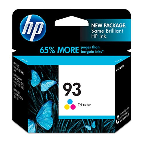 HP 93 Tri-color Ink Cartridge (C9361WN) for HP Photosmart 2575 C4150 C4180 HP PSC 1510 ()