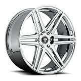 6 lug dub rims - Dub S122 Skillz 22x9.5 6x139.7 +30mm Chrome Wheel Rim