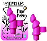 Velvet Kiss Collection Finger Pleaser Multispeed Waterproof, Pink