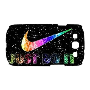 "PC-Beauty ""An Array Of Stars""-Just Do It 3D Print Hard Shell Cover Case for Samsung Galaxy S3 I9300"