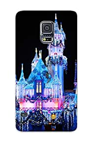 Tpu Kathewade Shockproof Scratcheproof Disney Castle Hard Case Cover For Galaxy S5 For Lovers