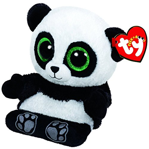 TY Beanie Boos - Peek-A-Boos Phone Holder - Poo The Panda Bear