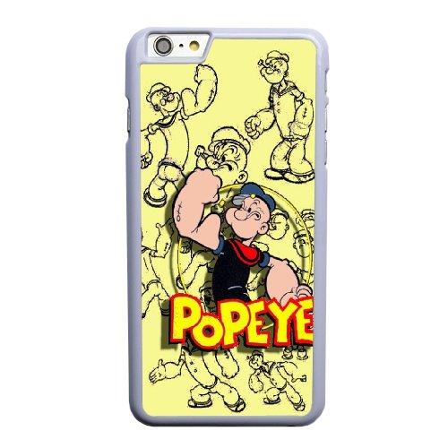 Coque,Coque iphone 6 6S 4.7 pouce Case Coque, Popeyes Cover For Coque iphone 6 6S 4.7 pouce Cell Phone Case Cover blanc