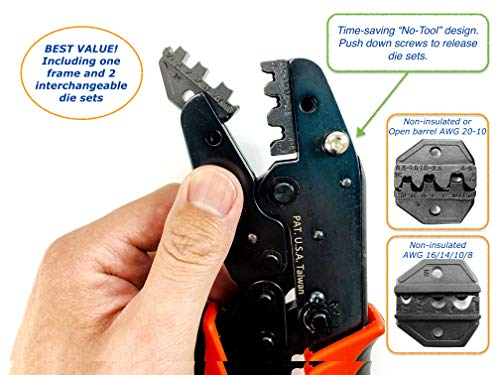 ConnectoRF No Tool Interchangeable Non insulated Terminals product image