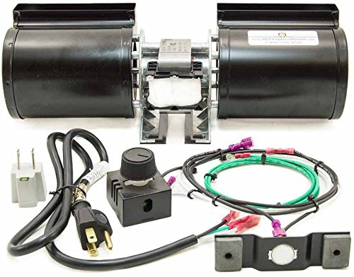 GFK-160A - GFK-160 Fireplace Blower Kit for Heat & GLO - Quadra-Fire by MyFireplaceBlower