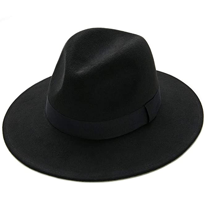 82ba205da8 Gangster Hat,Fedora Hats Men Women Felt Panama Caps Gatsby Themed Party  Mobsters Cosplay Costume Roaring 20s Accessories