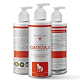 Cheap Wild Omega 3 Fish Oil for Dogs and Cats – Pure All Natural Formula Supports Supports Healthy Skin, Coat, Joints, Heart and Immune System – Higher Levels of EPA & DHA than Salmon Oil – 32 Oz