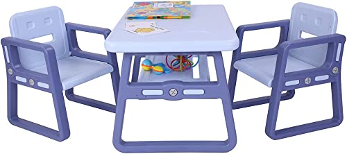 Alivinghome Multipurpose Kids Table and Chairs,Children Table Furniture