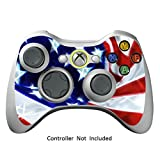 Cheap Skin Stickers for Xbox 360 Controller – Vinyl Leather Texture Sticker for X360 Slim Wired Wireless Game Controllers – Protectors Stickers Controller Decal – STARSTRIP [ Controller Not Included ]