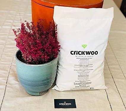 Crickwoo Humus de lombriz 25L (15 kg): Amazon.es: Jardín