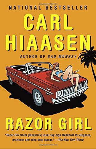 Razor Girl novel Carl Hiaasen product image