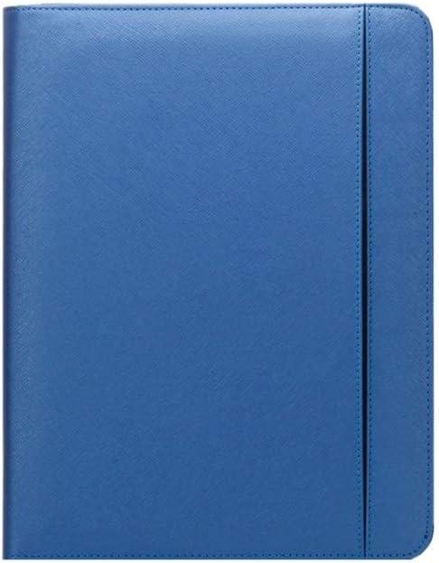 Yzibei Organizador de Carpetas de Documentos Multifuncional De Cuero PU Caso Business Meeting Carpeta De La Cremallera De La Cartera De Carpetas Entrevista Notebook para Tableta iPad