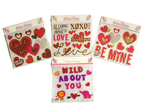 valentines-day-decorative-window-clings-bundle-four-items-four-packages-of-different-valentines-wind