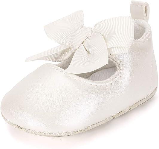 ESTAMICO Chaussure bébé Premier Pas Ballerines bébé Fille