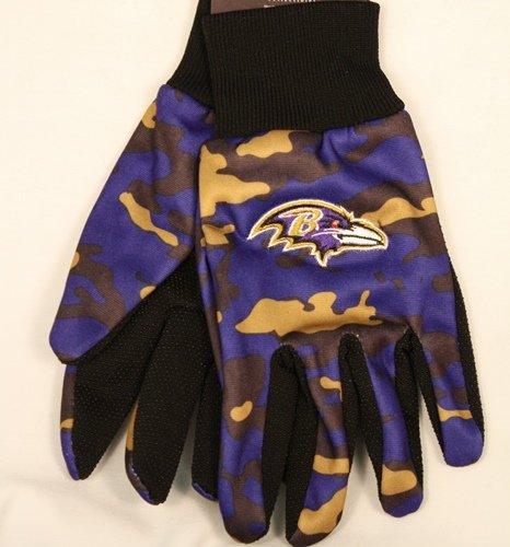 Foco NFL迷彩作業手袋 B00EVP9RCW ボルチモアレイヴンズ  ボルチモアレイヴンズ