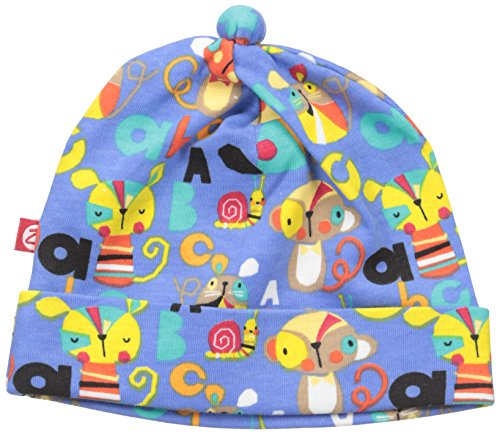 (Zutano Baby Printed Cotton Hat, Playtime, 6 Months)