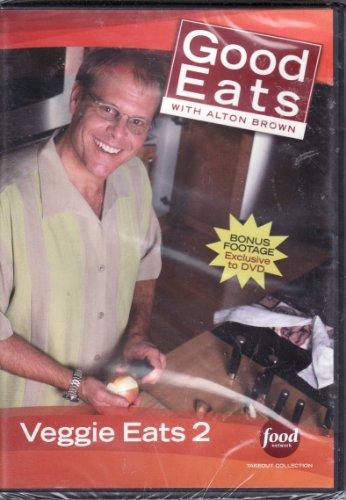 Gourmet Veggies - Food Network Takeout Collection DVD - Good Eats With Alton Brown - Veggie Eats 2 - Includes BONUS FOOTAGE Plus The Fungal Gourmet / Head Games / Squash Court