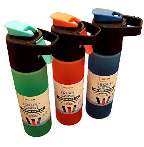 Relaxus Tropi-Cool Mister Bottle. 2-in-1 Mist Spray & Water