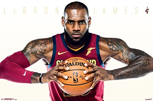LeBron James Poster - Cleveland Cavaliers - 34