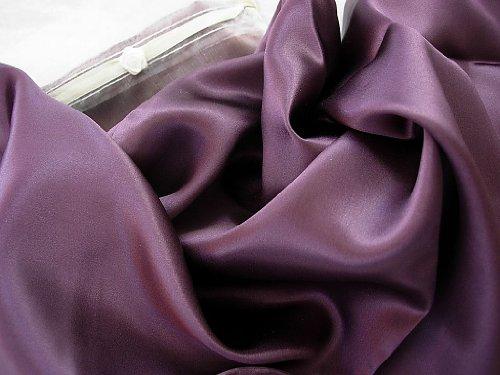 """Plum Purple Luxury 100% Silk Pillowcase 20x26"""" Hair & Facial"""